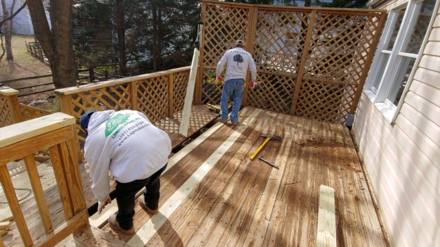 Deck Repair, Staining, Painting and Installation